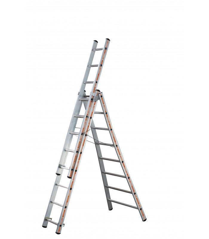 ARTILOC: Location d'échelle / escabeau 3 pans 8.5ml