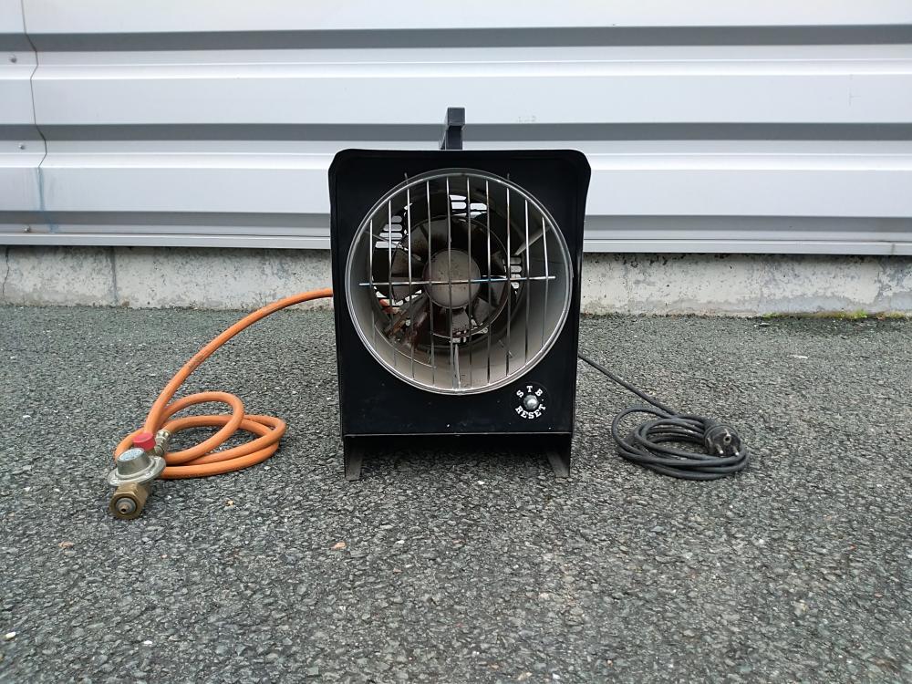 ARTILOC / ANJOU COCKTAIL: Chauffage à gaz et ventilateur électrique