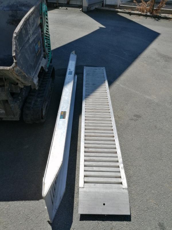 ARTILOC: Location de rampe de chargement 2.50ml / 4 tonnes