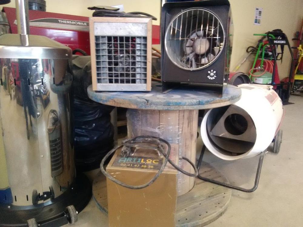 ARTILOC / ANJOU COCKTAIL : chauffage électrique à soufflerie