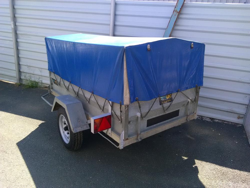 ARTILOC Remorque 750kg avec possibilité de bâche
