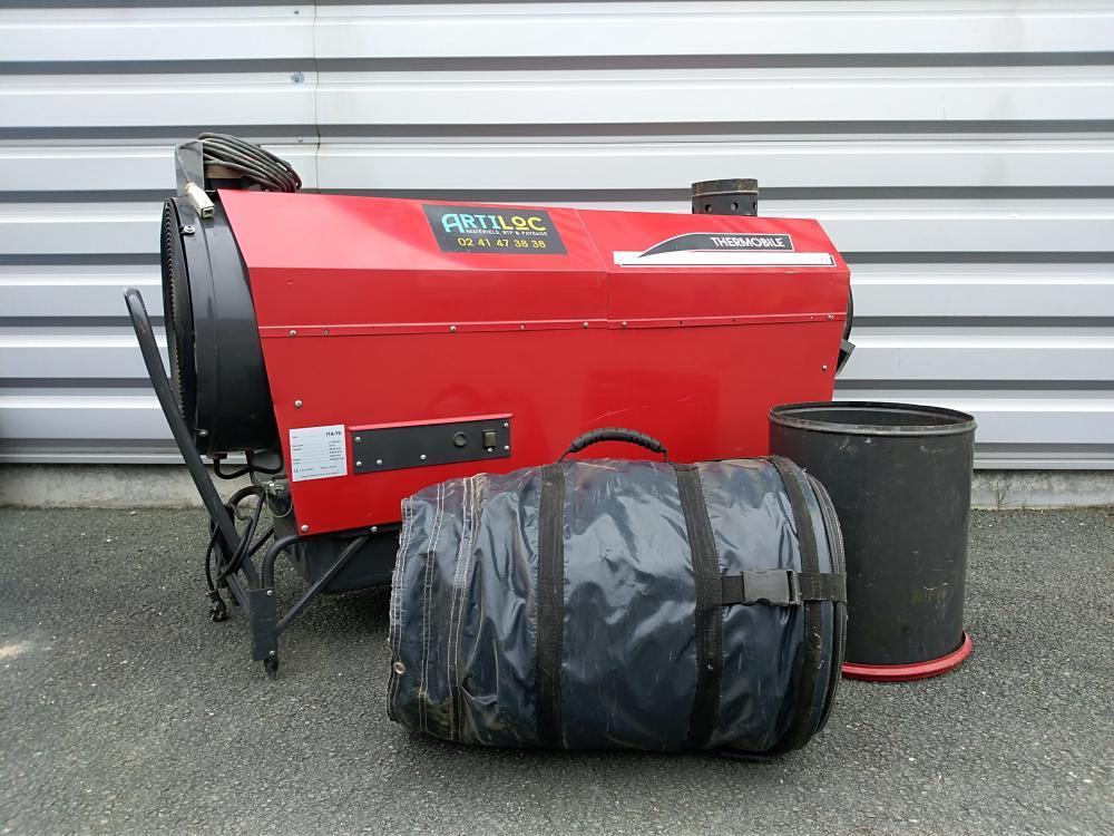 ARTILOC / ANJOU COCKTAIL: Chauffage à fioul et ventilateur électrique THERMOBILE
