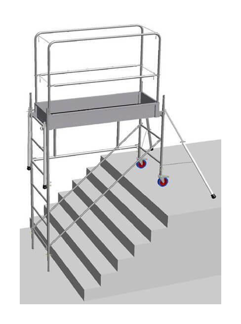 ARTILOC: Location d'échafaudage d'escalier